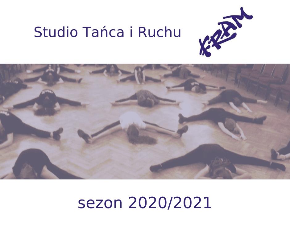 Zaproszenie na nowy sezon zajęć tanecznych Studia Tańca i Ruchu FRAM